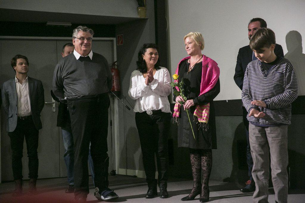 Stefka István portréfilmje Dózsa Lászlóról NEM VALLOTT, ELTEMETVE filmbemutató 2016.10.18. Fotó: Horváth Péter GYula